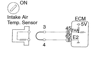 Toyota Supra JZA80 / Diagnostics / Circuit inspection 2JZ-GE engine