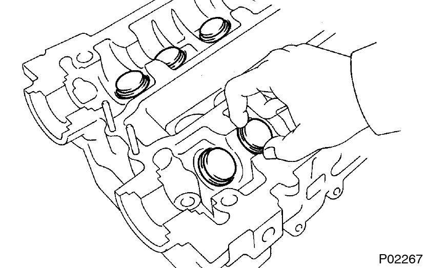 Toyota Supra Jza80 2jz Gte Engine Cylinder Head Disassembly
