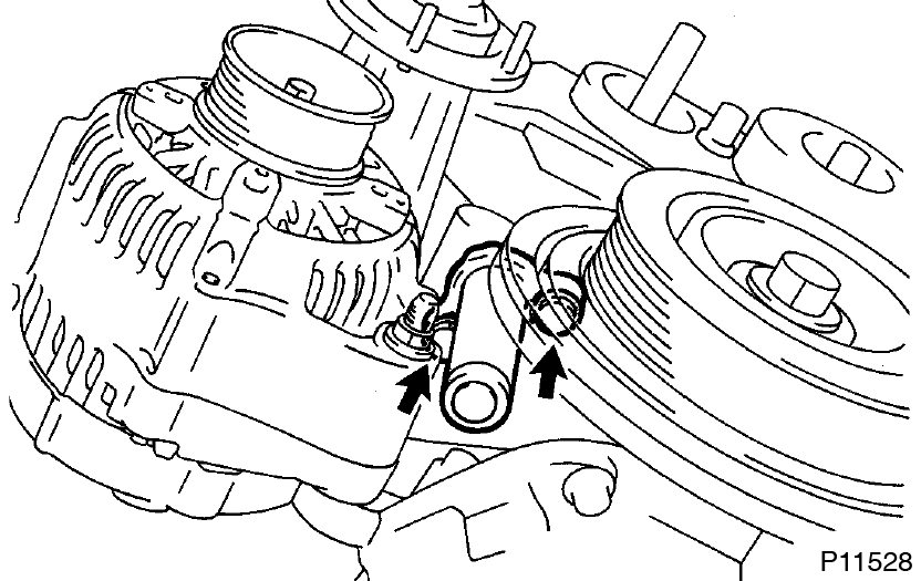 Timing Belt Removal