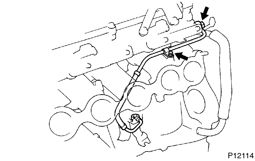 Toyota Supra JZA80 / 2JZ-GTE Engine / Cylinder head removal